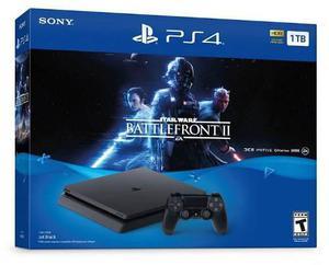 Playstation 4 ps4 slim 1tb con star wars battlefront 2 nuevo