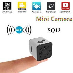 Quelima sq13 mini hd 1080p wifi micro cámara lente del regi