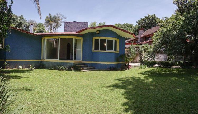 Renta de casa residencial camprestre en briones, coatepec,