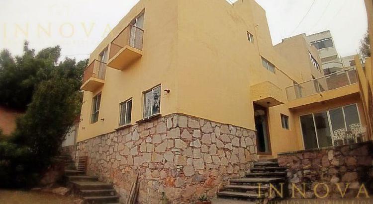 Rento casa de 4 habitaciones en colonia la presa (zona san