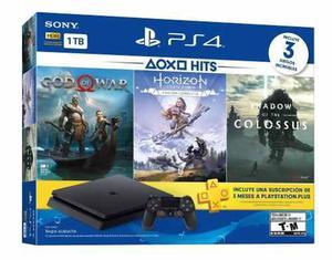 Sony ps4 slim 1tb bundle con 3 juegos! nuevo