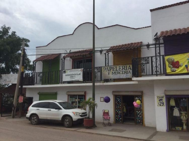 Vendo plaza comercial en caimanero, mocorito, sinaloa /