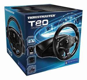 Volante de carreras oficial thrustmaster t80 rs ps4 y ps3