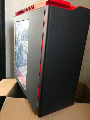 Gabinete nzxt h440 nuevo, exelente estado negro c/ rojo