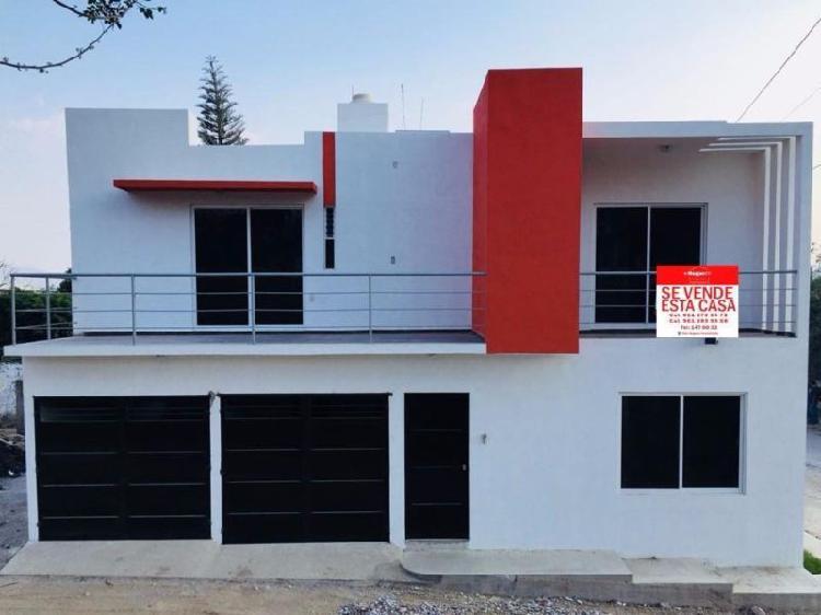 Casa nueva en venta en zona norte pte col. plan de ayala