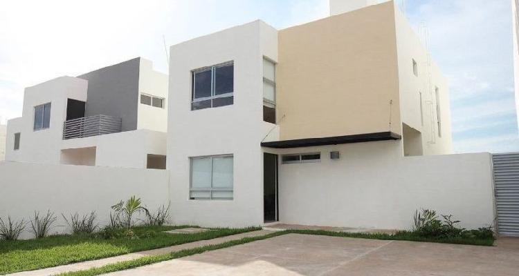Casa en venta privada salomea conkal (modolena),mérida