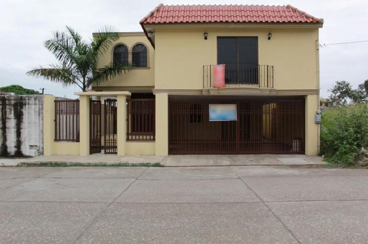 Casas en venta tampico col. tancol 33
