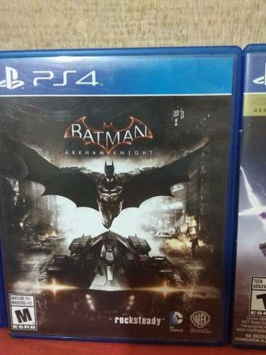 Juegos ps4, black ops 4, the division, batman, destiny