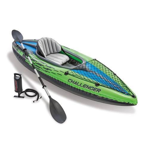 Kayak inflable lancha intex individual   envío gratis