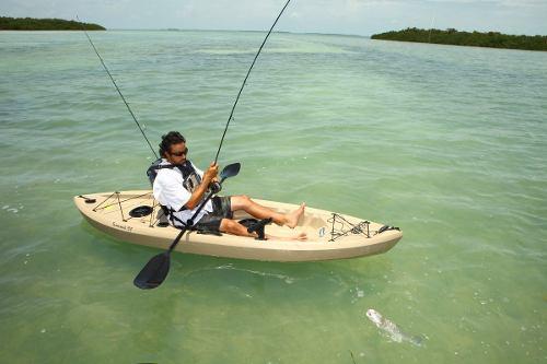 Kayak lifetime tamarack angler 10 pies, mar, rios, pesca
