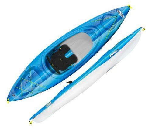 Kayak pelican argo 100 rigido, sentado dentro nuevo