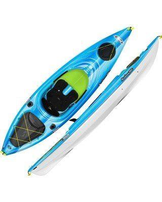 Kayak pelican mustang 100x nuevo, incluye remo y mochila!!!!