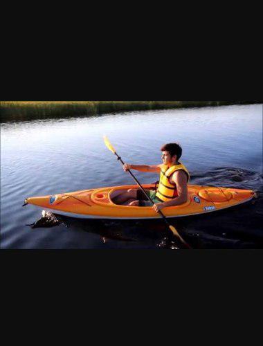 Kayak pelican trailblazer 100. nuevos! remo y chaleco incl