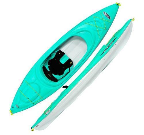Kayak pelican trailblazer 100 sentado dentro nuevo