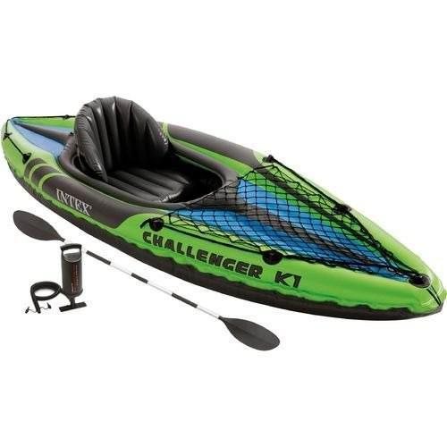 Kayak/lancha inflable 9pies intex challenger k1