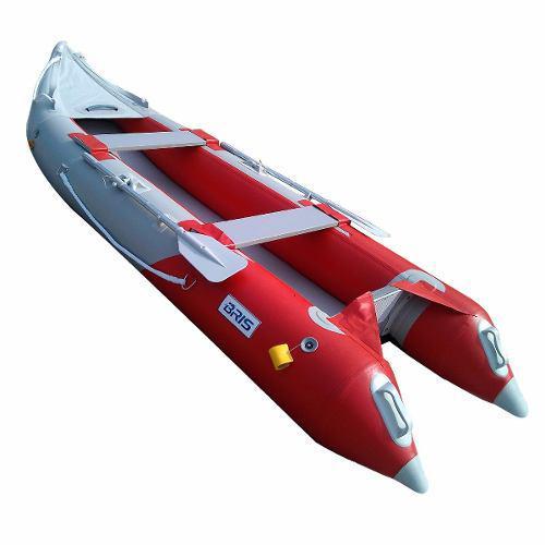 Lancha kayak inflable bris bote de pesca con piso rigido 14'