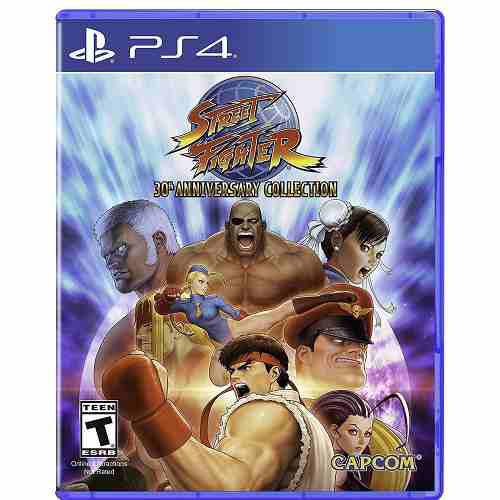 Street fighter 30th aniversario ps4 playstation