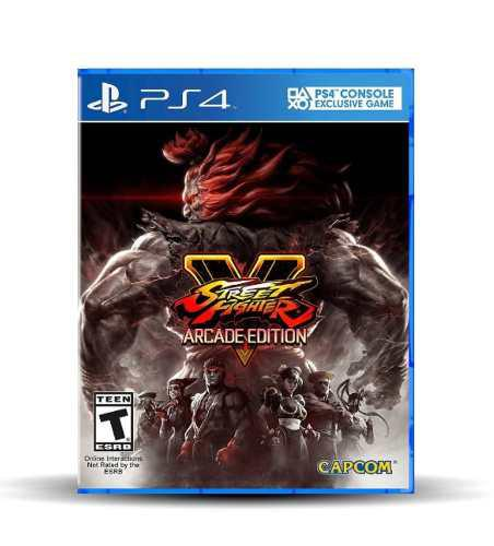 Street fighter v 5 arcade edition playstation 4