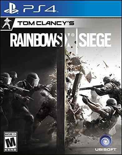 Video juego tom clancy's rainbow six siege - playstation 4