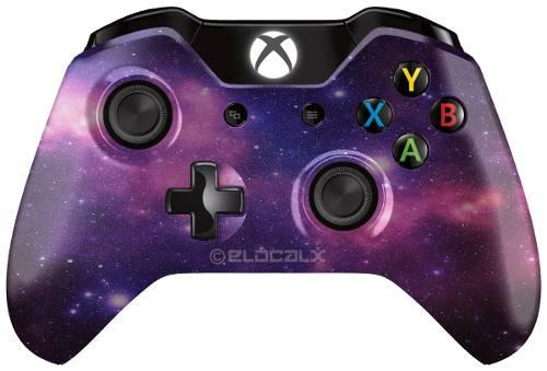 Control xbox one galaxy monster grip tipo scuf gaming 2p