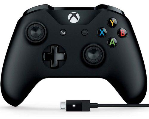 Control xbox one gamer pc microsoft original inalambrico