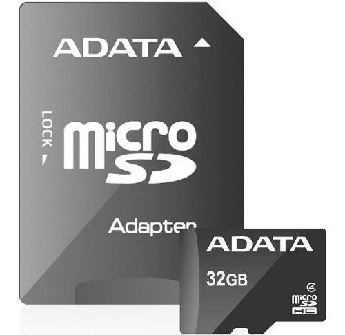 Memoria micro sd 32gb adata clase 4 sdc4 ausdh32gcl4-ra1