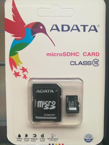 Micro sd 256 gb adata clase 10 ultra rapida nueva sellada