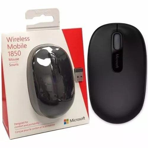 Mouse microsoft 1850 mini varios colores mobile facturado