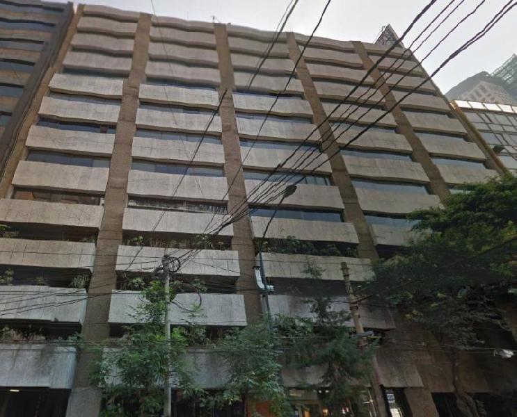 Oficina, anzures, renta, buena, 500 m2, 5 estacionamientos