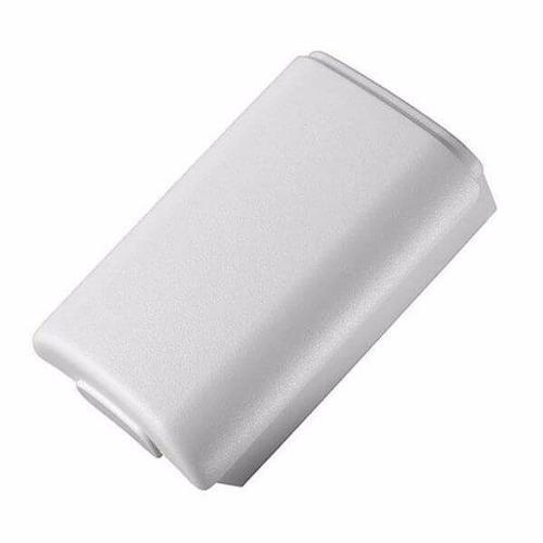 Tapa blanca porta batería control xbox 360