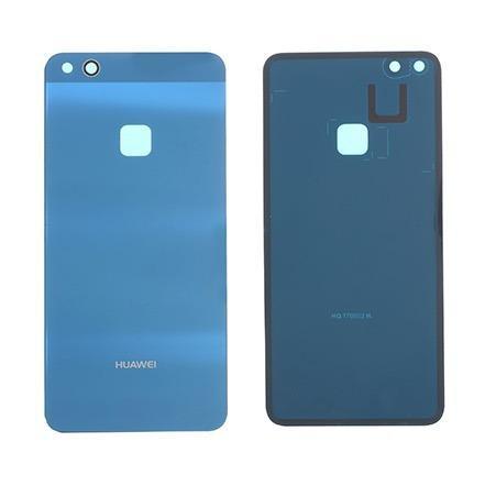 Tapa trasera bateria lente huawei p10 lite cristal azul