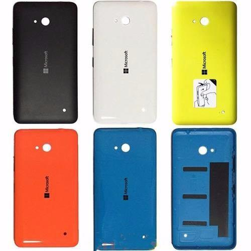 Tapa trasera microsoft lumia 640 lte varios colores original