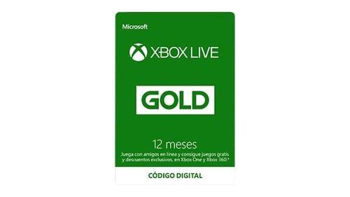 Xbox live gold 12 meses entrega inmediata megapromo
