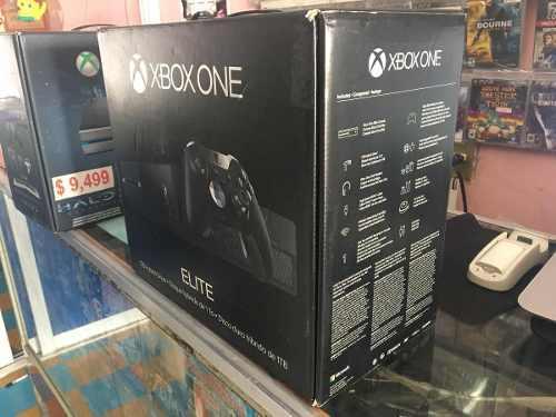 Xbox one elite disco duro híbrido 1tb negro nuevo sellado