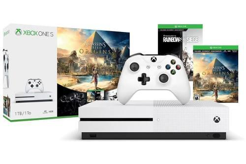 Xbox one s 1tr con 2 juegos en d3 gamers a meses