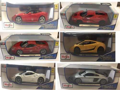 Carros de colección deportivos escala 1/18