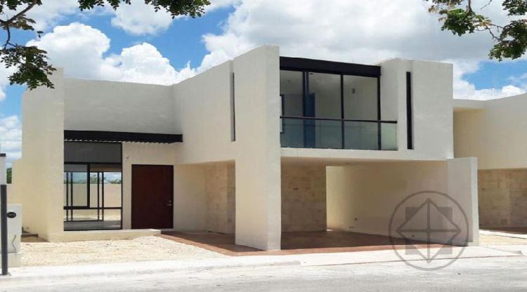 Casa nueva en privada san jerónimo al norte de mérida