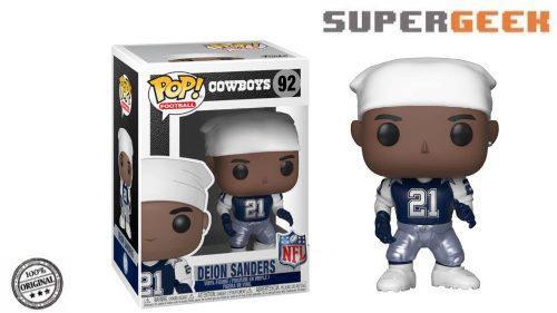 NFL Dallas Cowboys Deion Sanders Pop Vinilo Figura De Colección Unisex fanáticos