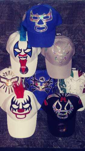 Gorras de mascara de luchador misterio pycho clow wagner c8ada6da24a