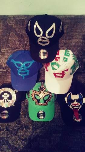Gorras de mascara de luchador rush anibal santo mr niebla 0c5613be873