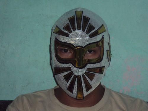 Mascara luchador mistico modelo clasico adulto semiprofesion