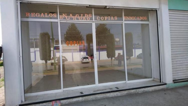 Local en renta en ixtlahuaca centro terminal mercado /