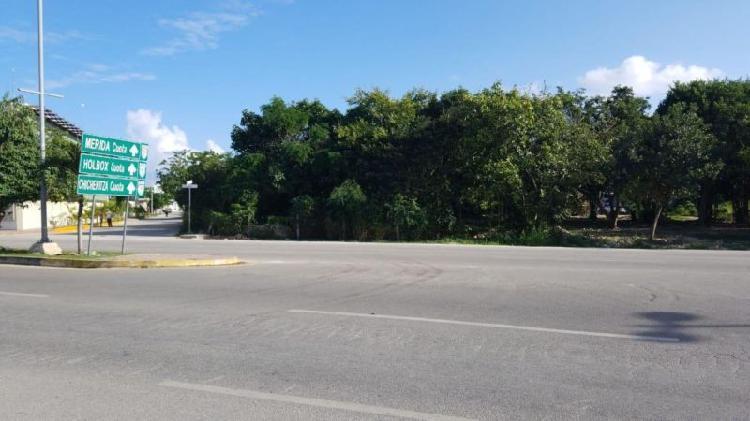 Terreno en venta en avenida 115 colonia ejidal en playa del
