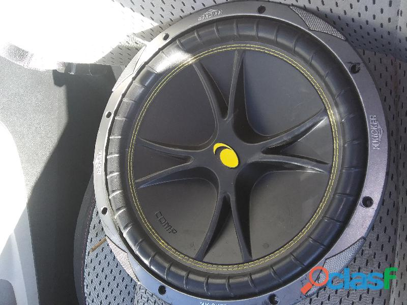 12 inch kicker comp 4 ohm subwoofer for sale