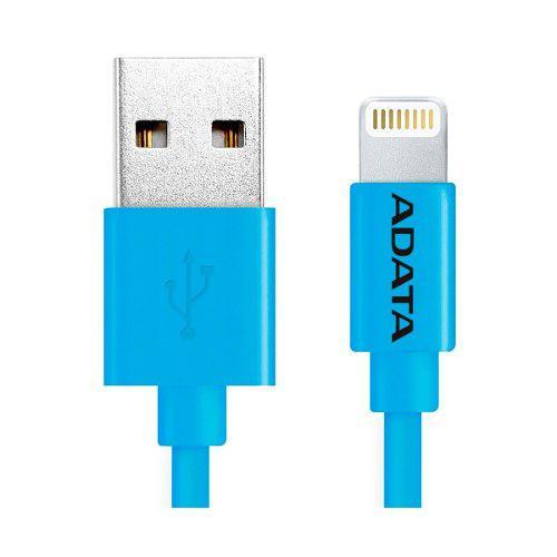 Adata cable usb lightning original iphone 100cm azul
