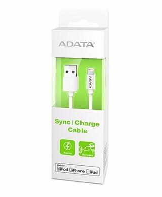 Adata cable usb lightning original iphone 100cm blanco