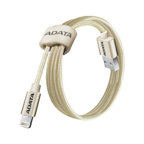 Adata cable usb lightning original iphone 100cm dorado