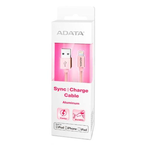 Adata cable usb lightning original iphone 100cm oro rosa