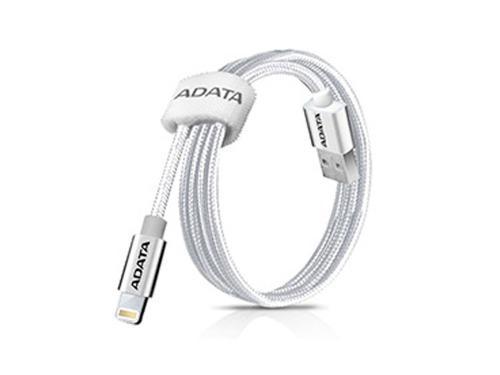 Adata cable usb lightning original iphone 100cm plata