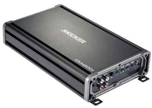 Amplificador de audio 2400 watts / 1200 w rms kicker
